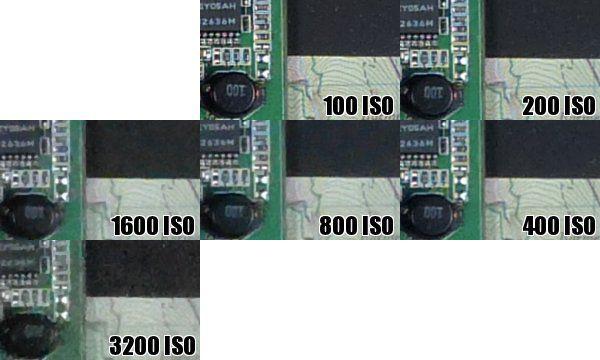 Panasonic FZ150 iso