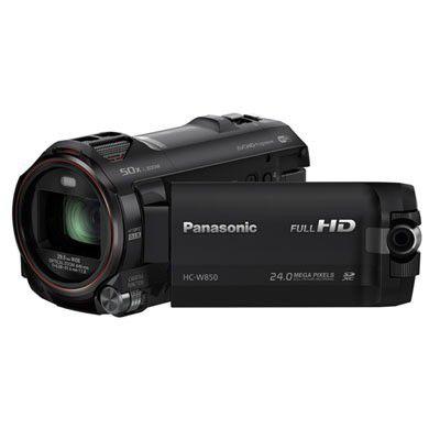 Panasonic HC-W850, deux caméras dans un caméscope