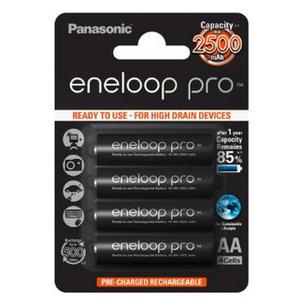Panasonic Eneloop Pro 2500 mAh AA/HR6