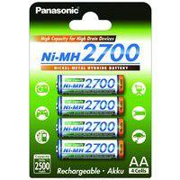 Panasonic NiMH 2700 mAh AA/HR6