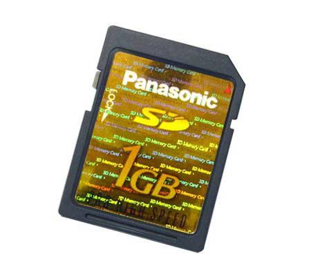 Panasonic SD 1GB Pro High Speed