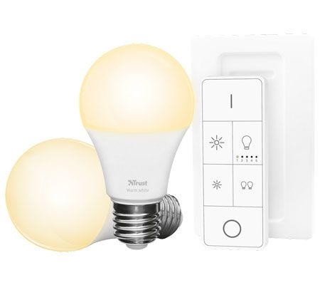 Trust ZigBee starter set 2 led bulbs + bridge
