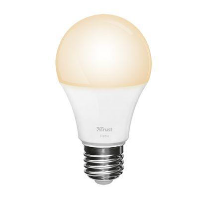 Ampoule connectée Trust: ne promet que du blanc chaud