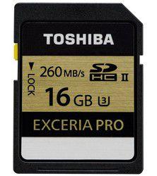 Toshiba Exceria Pro SDHC UHS-II 16 Go: les grosses rafales ne lui font pas peur
