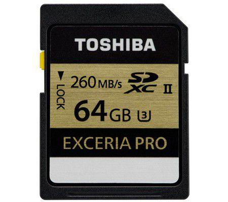 Toshiba SD Exceria Pro 64 Go