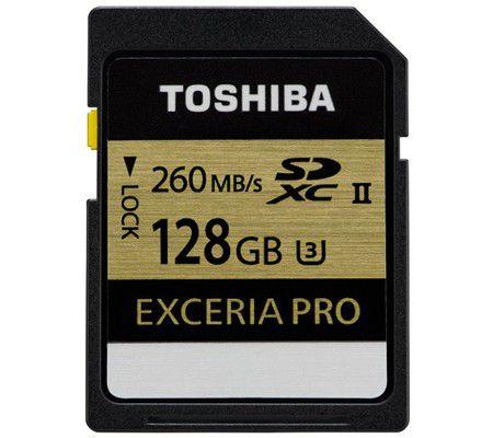 Toshiba SD Exceria Pro 128 Go