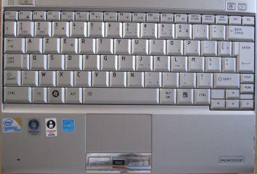 Toshiba R600-12N keyboard