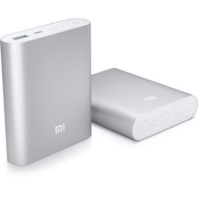 Xiaomi PowerBank 10400 mAh : la batterie chic