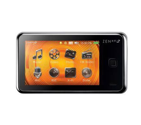 Creative Zen X-FI 2 16 Go
