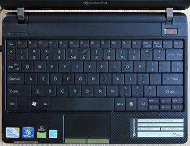 Packard Bell dot VR46 keyboard