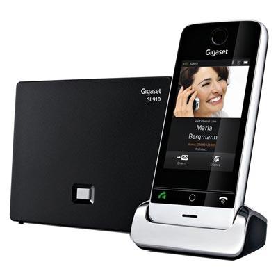 gigaset sl910a test complet t l phone fixe les. Black Bedroom Furniture Sets. Home Design Ideas