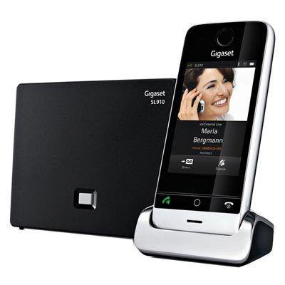 Gigaset SL910A: le téléphone fixe et tactile en forme de smartphone