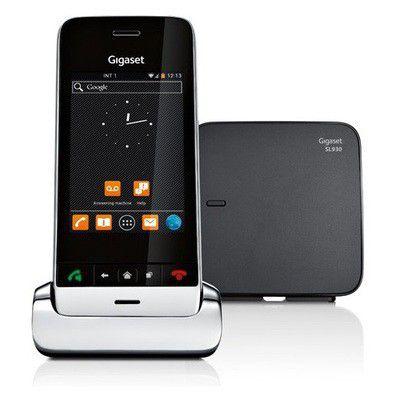 Le Gigaset SL930A mixe téléphone fixe haut de gamme, tactile et Android