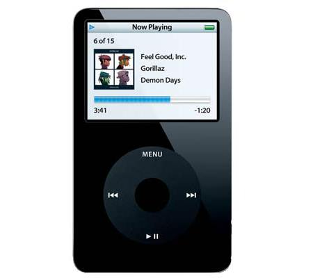 Apple iPod 5G 60 Go