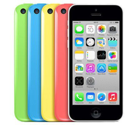 apple iphone 5c test complet smartphone les num riques. Black Bedroom Furniture Sets. Home Design Ideas