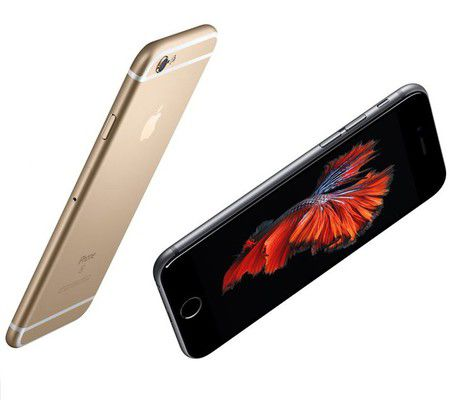 Apple iPhone 6s (capteur avant)