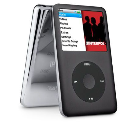 Apple iPod Classic 2G Noir