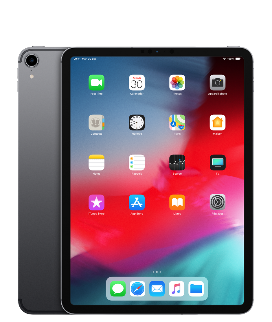 apple ipad pro 11  2018    test  prix et fiche technique - tablette tactile