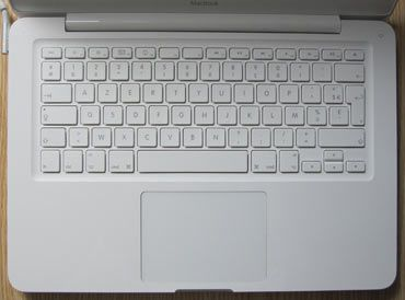 Apple MacBook 13 Unibody keyboard