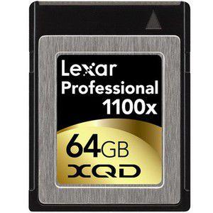 Lexar Professional 1100x XQD 64 Go