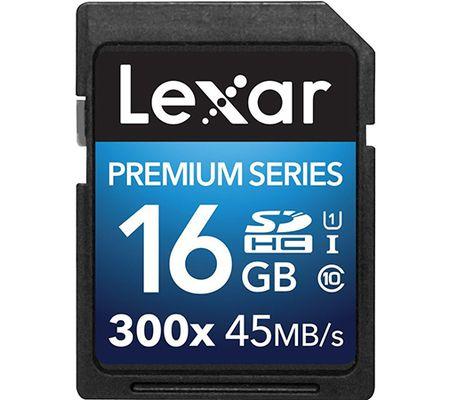 Lexar Premium Series 300x SDHC 16 Go