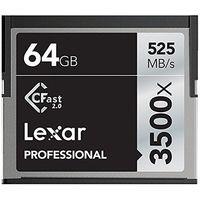 Lexar Professional 3500x CFast 2.0 64 Go