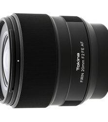 Objectif Tokina Firin 20mm f/2 FE AF: une version autofocus pour Sony