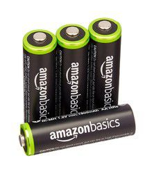AmazonBasics Ni-MH 2000 mAh: recharge plus vite que son ombre