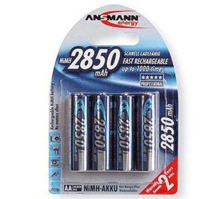 Ansmann AA x4 2850 mAh