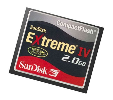 SanDisk CompactFlash Extreme IV 2Go