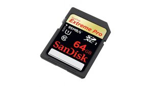 Black Friday – Carte SD SanDisk 64 Go Extreme Pro à 24 €