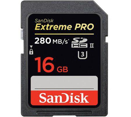 SanDisk Extreme Pro 16 Go SDHC UHS-II