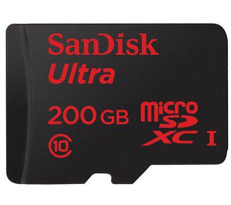 SanDisk Ultra 200 Go microSDXC