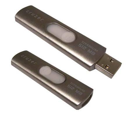 SanDisk Cruzer Titanium 512 Mo