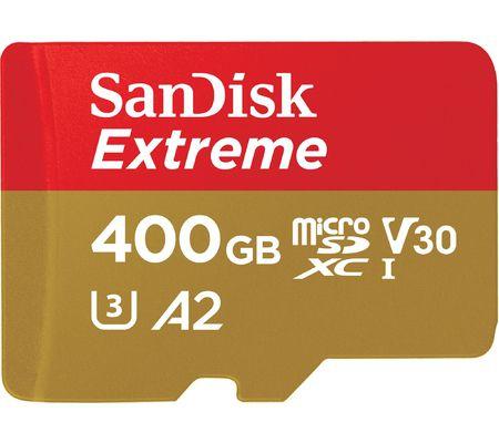 SanDisk microSD UHS-IXC Extreme 400 Go