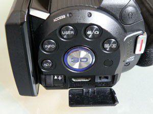 jvc GS-TD1 test review arrière et commandes