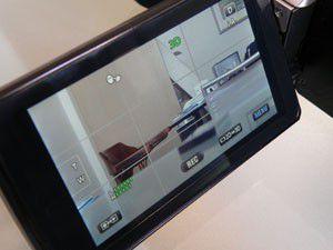 jvc GS-TD1 test review écran pour visionnage en relief