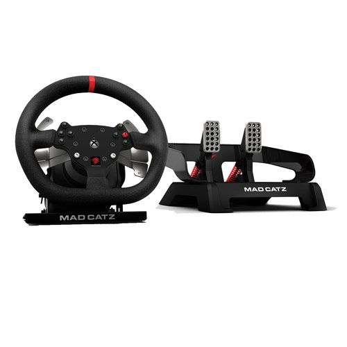 mad catz pro racing force feedback wheel test prix et. Black Bedroom Furniture Sets. Home Design Ideas