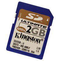 Kingston SD Memory Card Ultimate 2GB