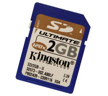 Kingston SD Memory Card Ultimate 2GB