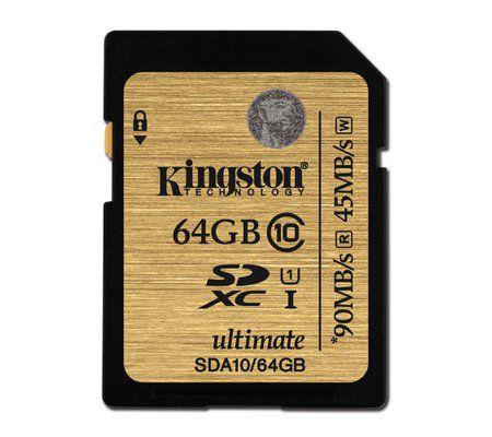 Kingston Ultimate SDA10 64Go SDXC