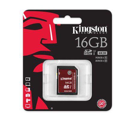 Kingston SDA3 16 Go SDHC UHS-I U3