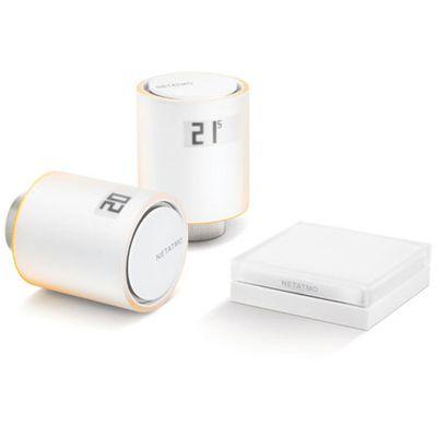 Netatmo tête thermostatique: pour connecter toutes vos vannes de radiateurs