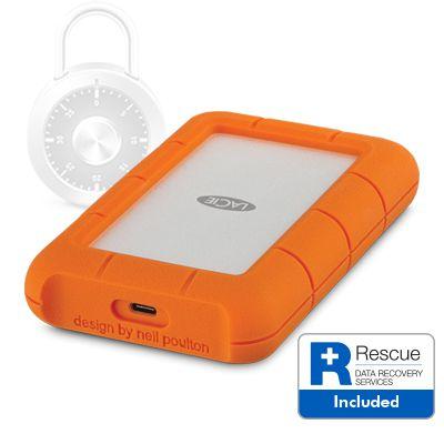 Disque dur externe antichoc LaCie Rugged Secure 2 To: sécurisé mais poussif