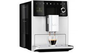 Deux bacs à grains sur la cafetière automatique CI Touch de Melitta