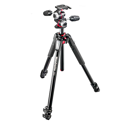 Manfrotto Manfrotto Kit Trépied en alu 3 Sections + Rotule 3D