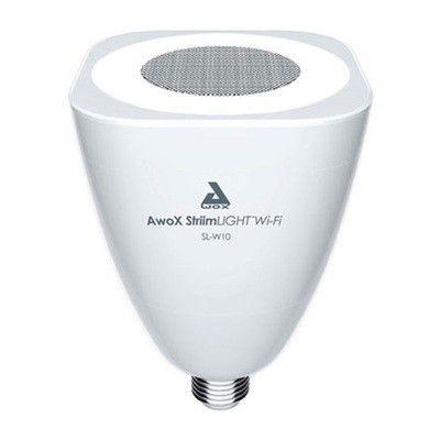 Awox StriimLight Wi-Fi SL-W10: une ampoule son et lumière