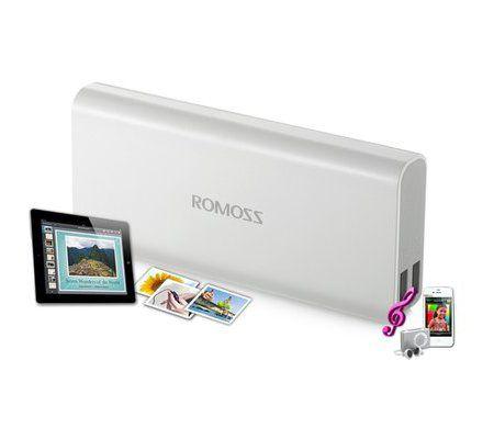 Romoss 10400 mAh Batterie de secours externe