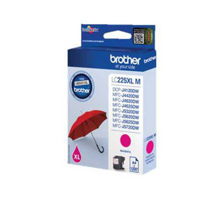 Brother Cartouche Magenta LC225XLM