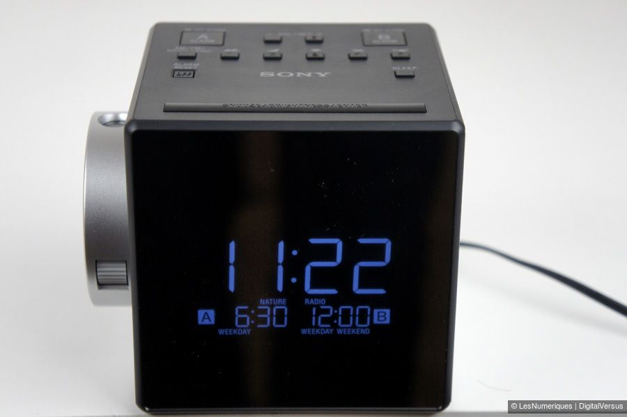Sony ICF C1PJ ecran